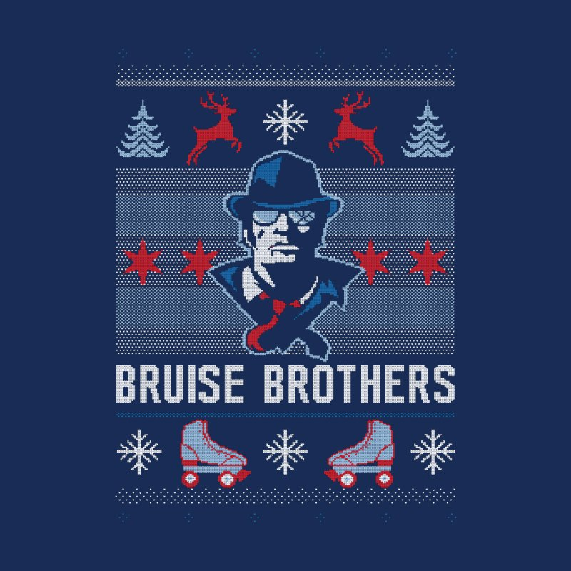 Bros Ugly Sweater Kids Baby Longsleeve Bodysuit by Chicago Bruise Brothers Roller Derby