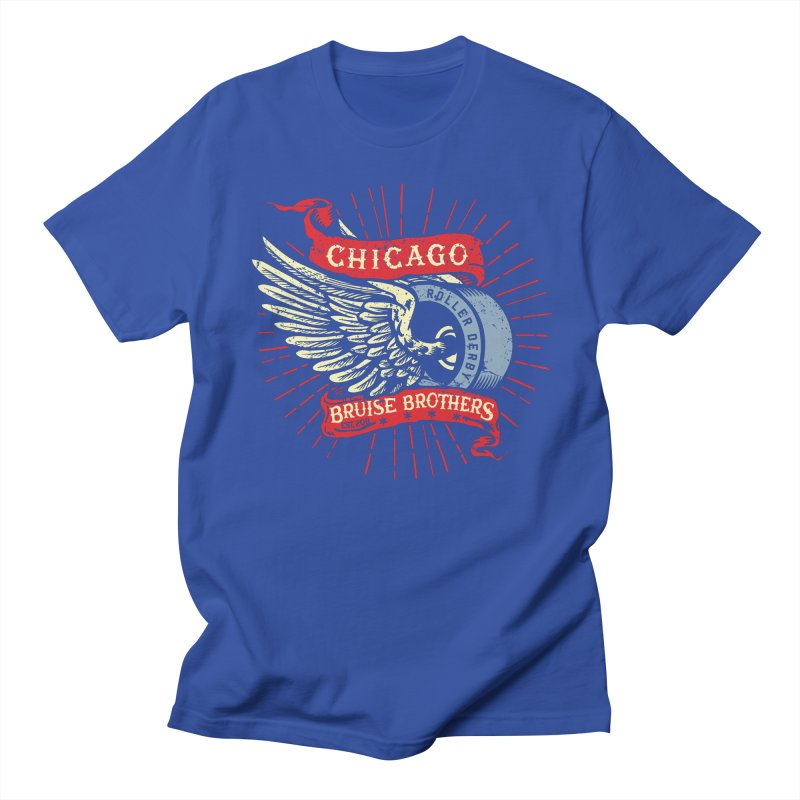 Heritage Design Men's Regular T-Shirt by Chicago Bruise Brothers Roller Derby