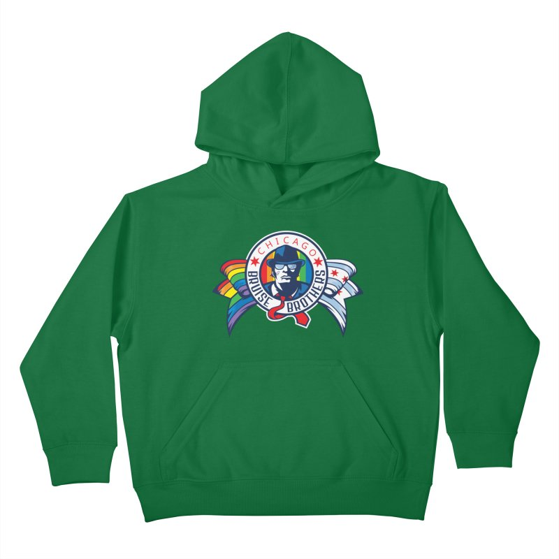 Pride Kids Pullover Hoody by Chicago Bruise Brothers Roller Derby