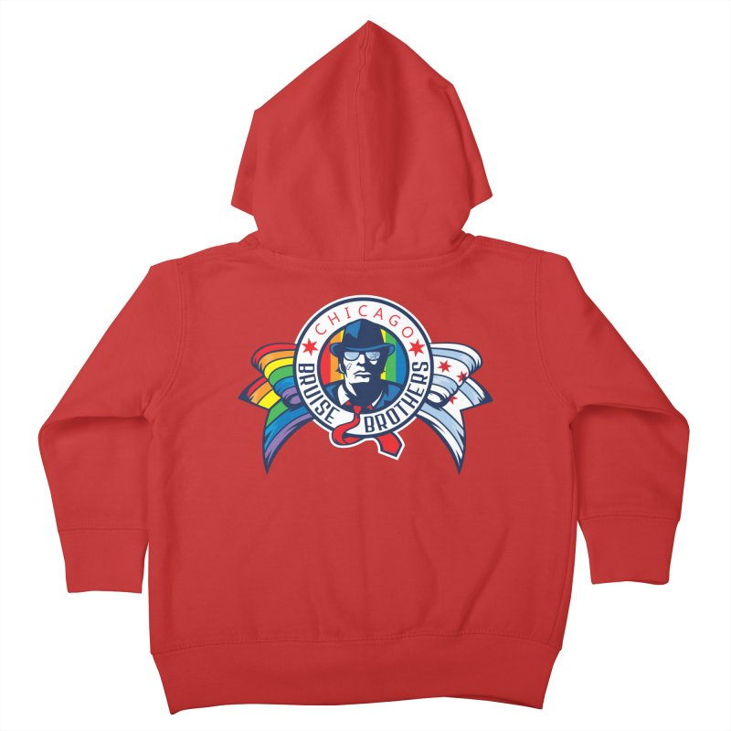 Pride Kids Toddler Zip-Up Hoody by Chicago Bruise Brothers Roller Derby