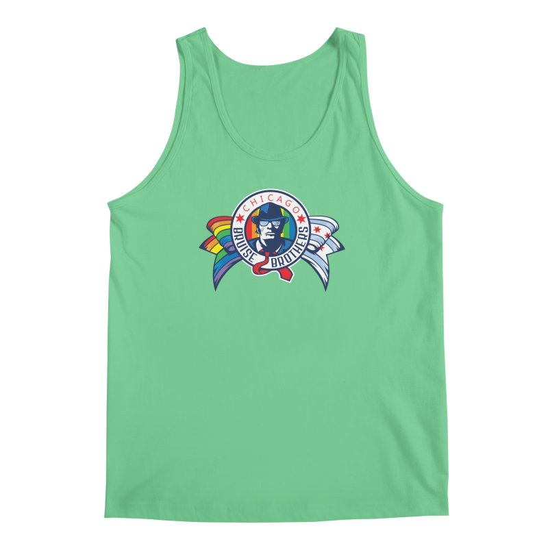Pride Men's Regular Tank by Chicago Bruise Brothers Roller Derby