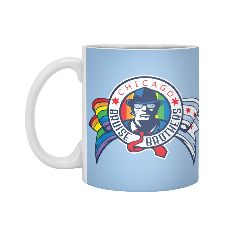 Pride Accessories Standard Mug by Chicago Bruise Brothers Roller Derby