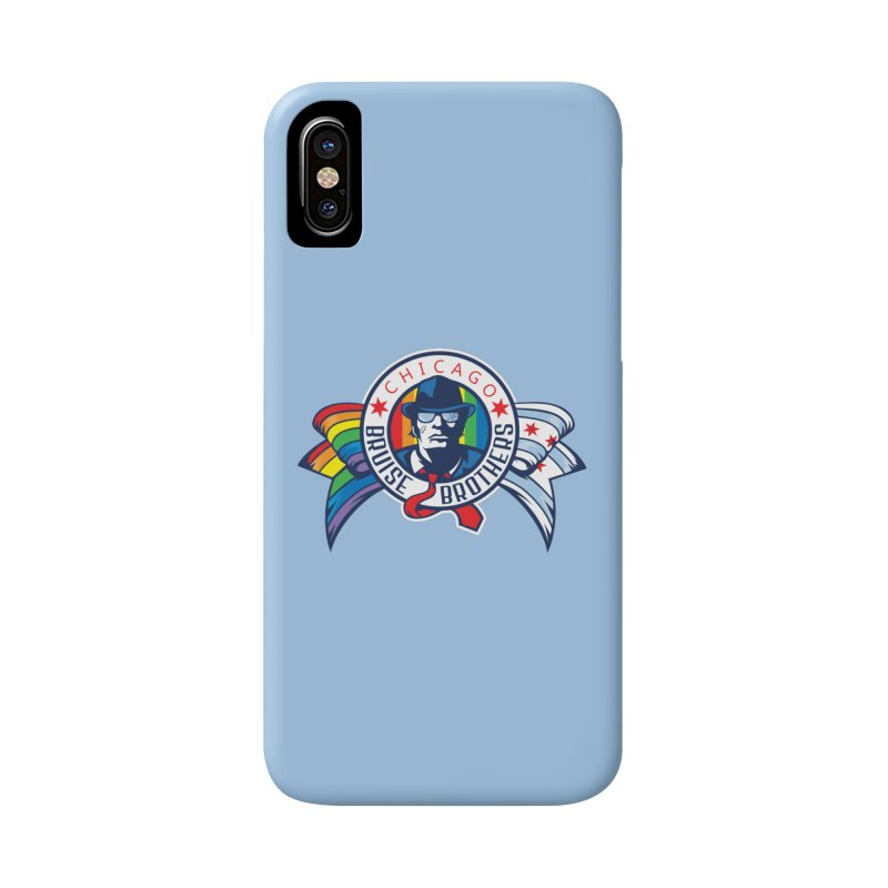 Pride Accessories Phone Case by Chicago Bruise Brothers Roller Derby