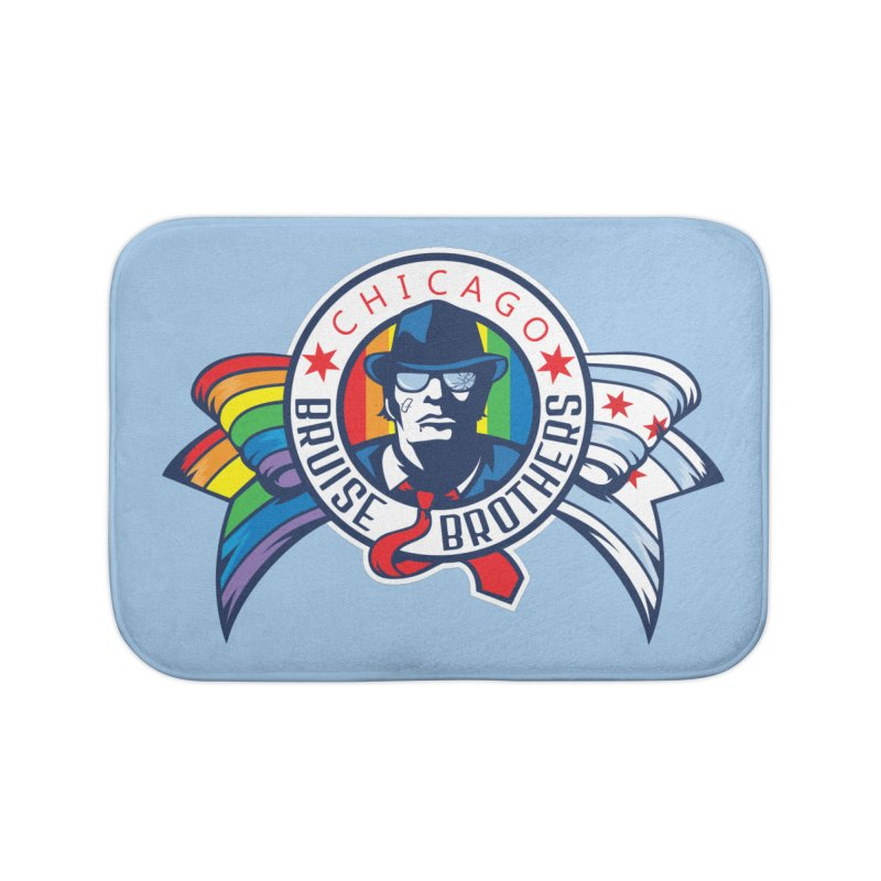 Pride Home Bath Mat by Chicago Bruise Brothers Roller Derby