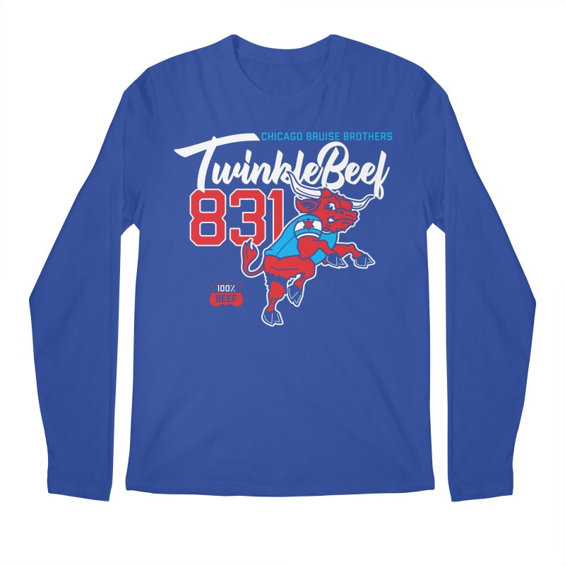 Skater Series: TwinkleBeef Men's Regular Longsleeve T-Shirt by Chicago Bruise Brothers Roller Derby