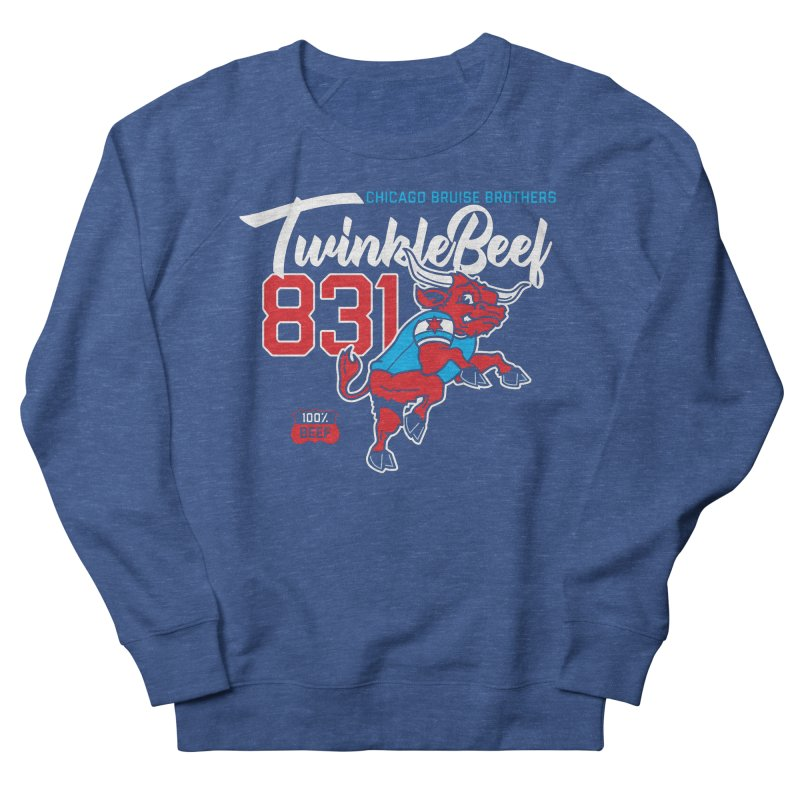 Skater Series: TwinkleBeef Women's French Terry Sweatshirt by Chicago Bruise Brothers Roller Derby