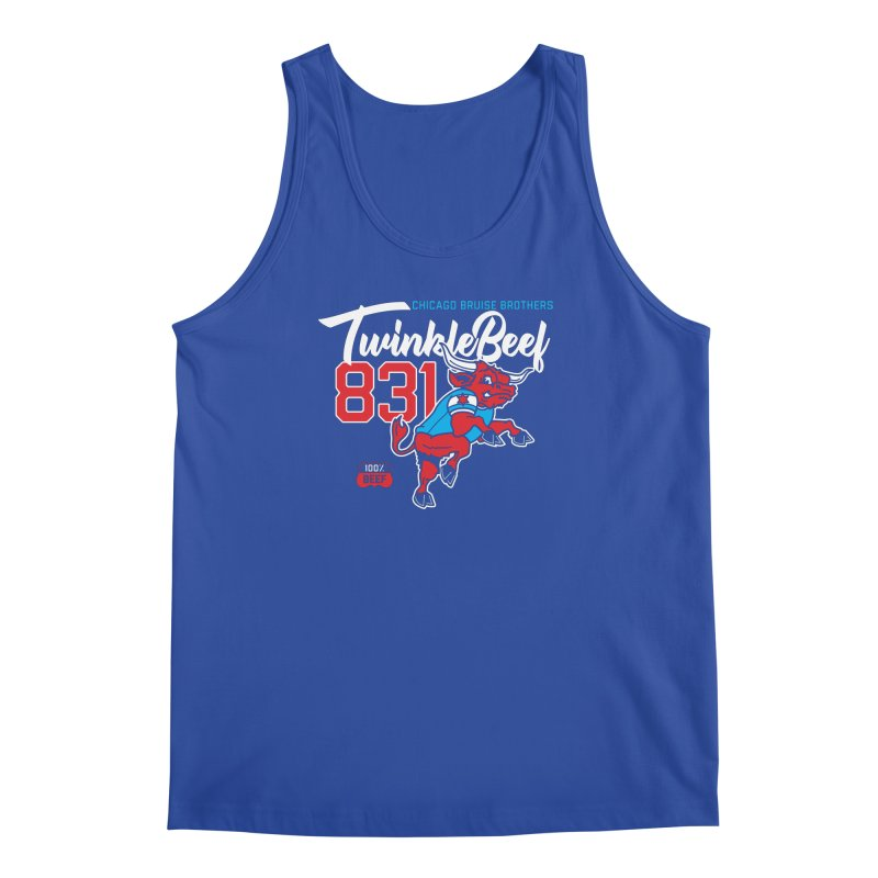 Skater Series: TwinkleBeef Men's Regular Tank by Chicago Bruise Brothers Roller Derby