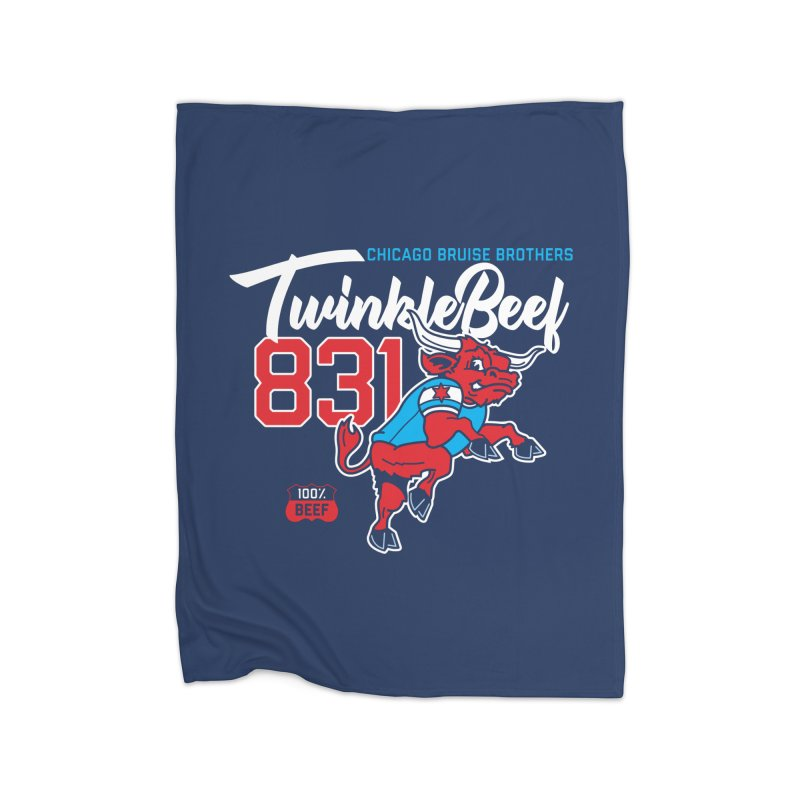 Skater Series: TwinkleBeef Home Fleece Blanket Blanket by Chicago Bruise Brothers Roller Derby