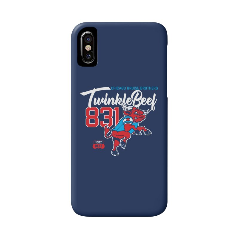 Skater Series: TwinkleBeef Accessories Phone Case by Chicago Bruise Brothers Roller Derby
