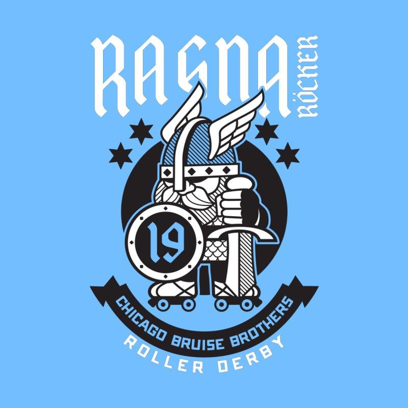 Skater Series: Ragna Röcker Kids Baby Longsleeve Bodysuit by Chicago Bruise Brothers Roller Derby