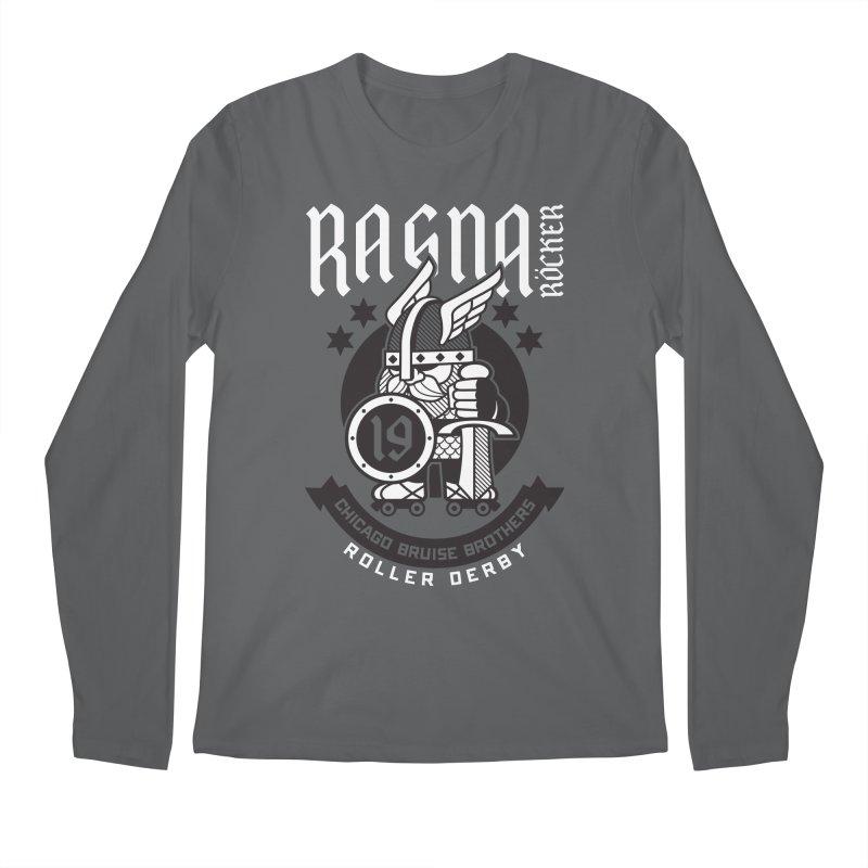 Skater Series: Ragna Röcker Men's Longsleeve T-Shirt by Chicago Bruise Brothers Roller Derby