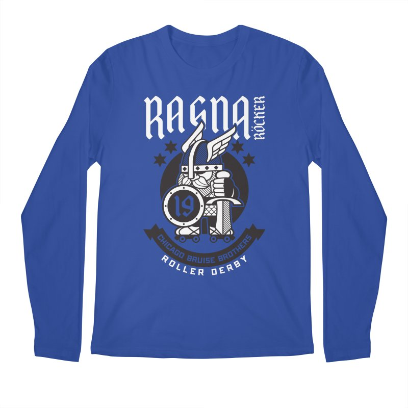 Skater Series: Ragna Röcker Men's Regular Longsleeve T-Shirt by Chicago Bruise Brothers Roller Derby