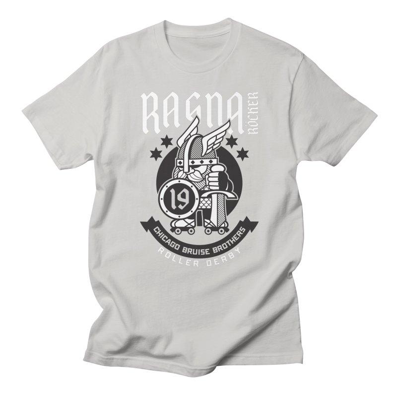 Skater Series: Ragna Röcker Men's Regular T-Shirt by Chicago Bruise Brothers Roller Derby