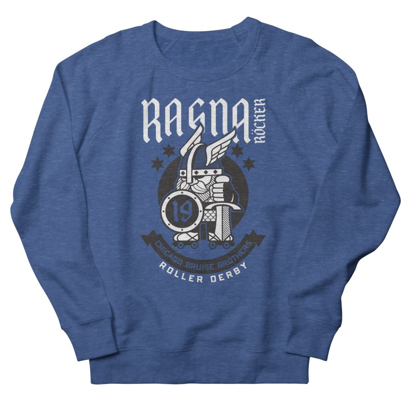Skater Series: Ragna Röcker Women's French Terry Sweatshirt by Chicago Bruise Brothers Roller Derby