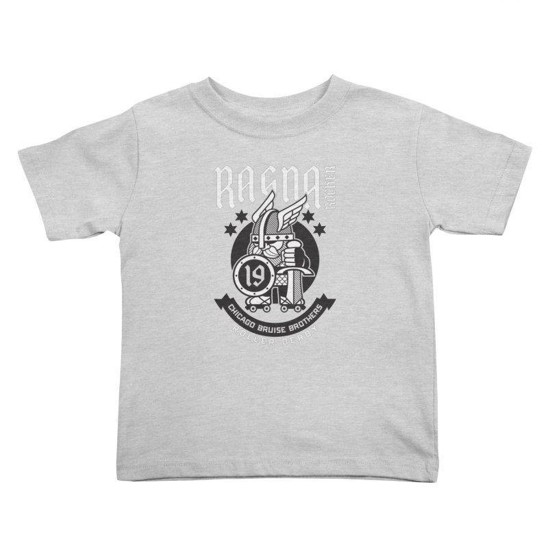 Skater Series: Ragna Röcker Kids Toddler T-Shirt by Chicago Bruise Brothers Roller Derby
