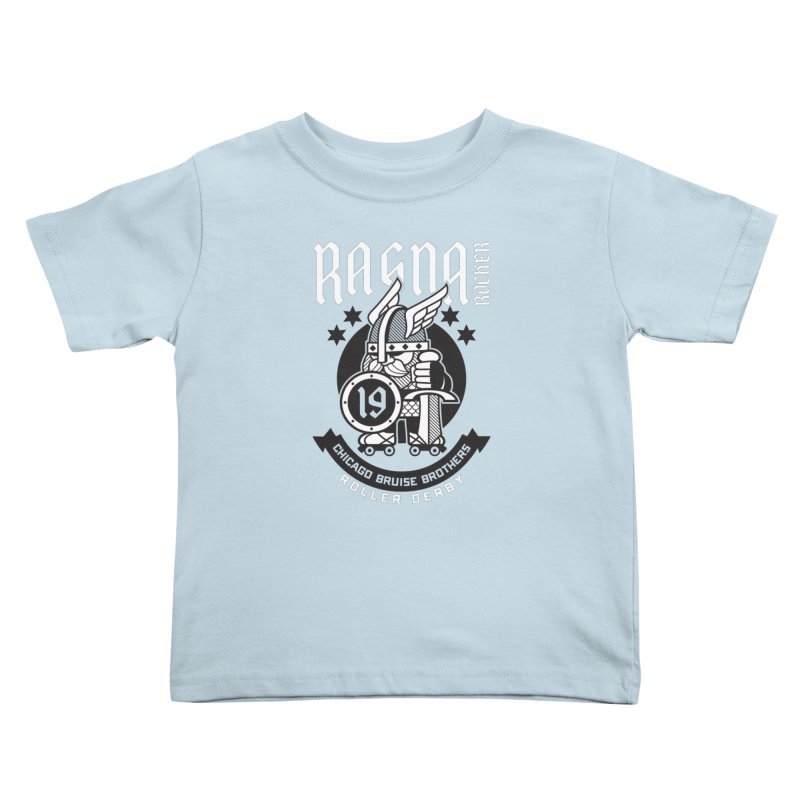 Skater Series: Ragna Röcker Kids Toddler T-Shirt by Chicago Bruise Brothers Roller Derby