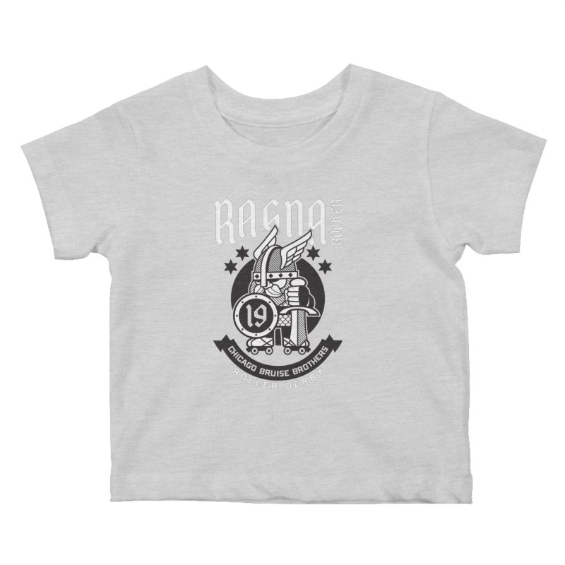 Skater Series: Ragna Röcker Kids Baby T-Shirt by Chicago Bruise Brothers Roller Derby
