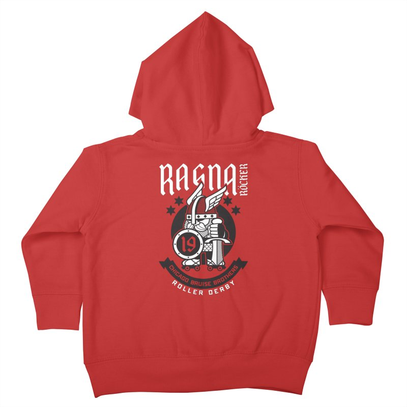 Skater Series: Ragna Röcker Kids Toddler Zip-Up Hoody by Chicago Bruise Brothers Roller Derby