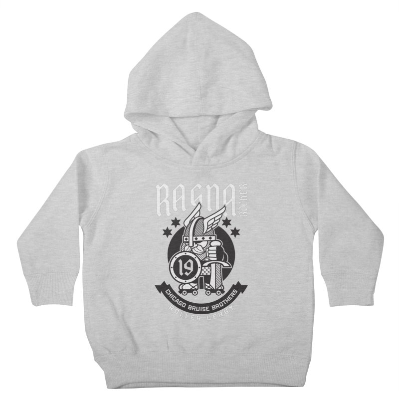 Skater Series: Ragna Röcker Kids Toddler Pullover Hoody by Chicago Bruise Brothers Roller Derby
