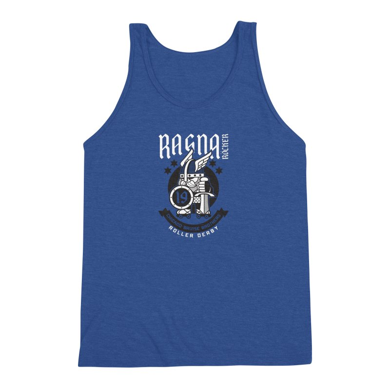 Skater Series: Ragna Röcker Men's Triblend Tank by Chicago Bruise Brothers Roller Derby