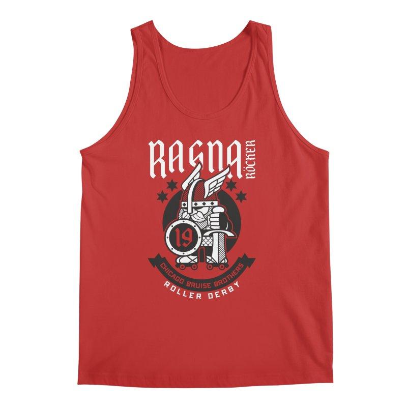 Skater Series: Ragna Röcker Men's Regular Tank by Chicago Bruise Brothers Roller Derby