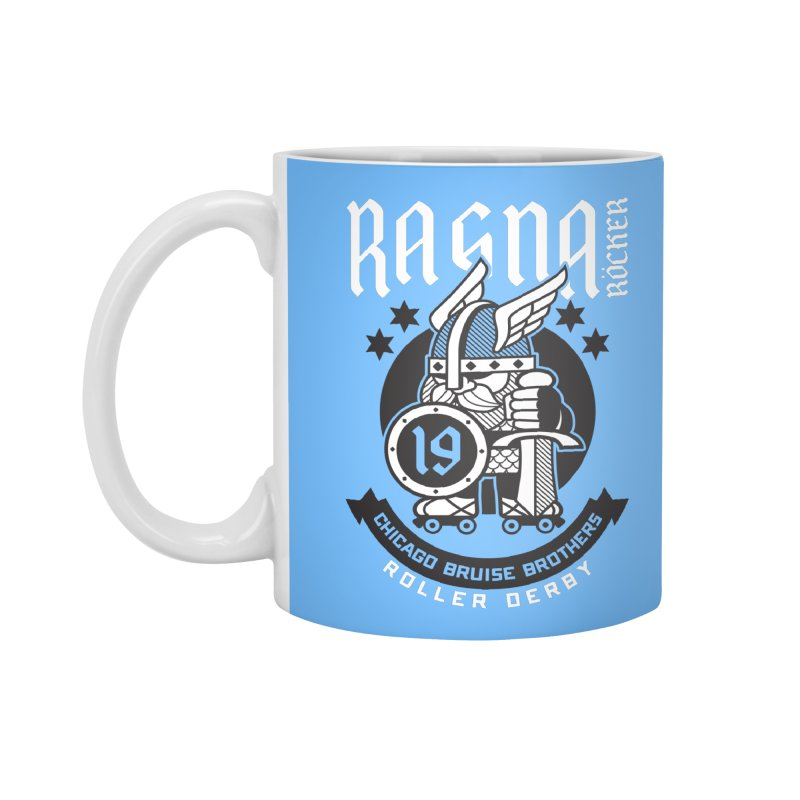 Skater Series: Ragna Röcker Accessories Standard Mug by Chicago Bruise Brothers Roller Derby