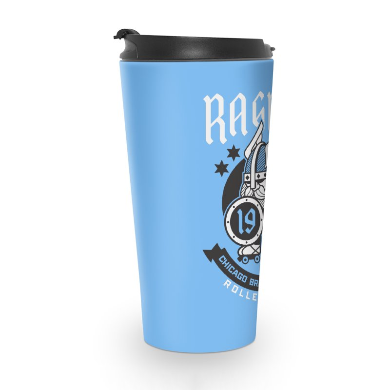Skater Series: Ragna Röcker Accessories Travel Mug by Chicago Bruise Brothers Roller Derby