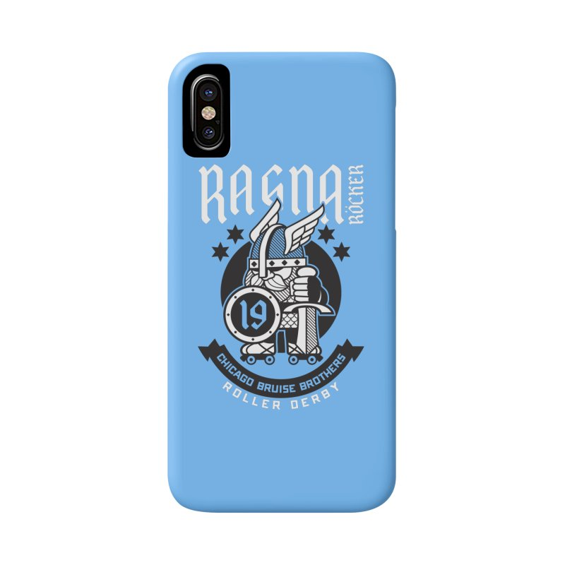 Skater Series: Ragna Röcker Accessories Phone Case by Chicago Bruise Brothers Roller Derby
