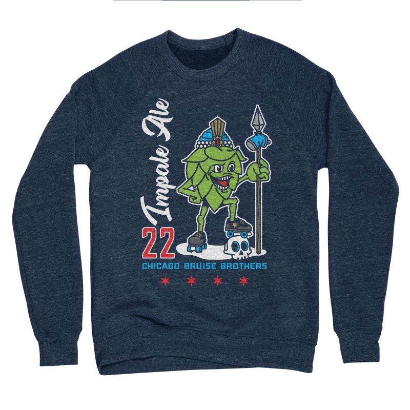 Skater Series: Impale Ale Women's Sponge Fleece Sweatshirt by Chicago Bruise Brothers Roller Derby