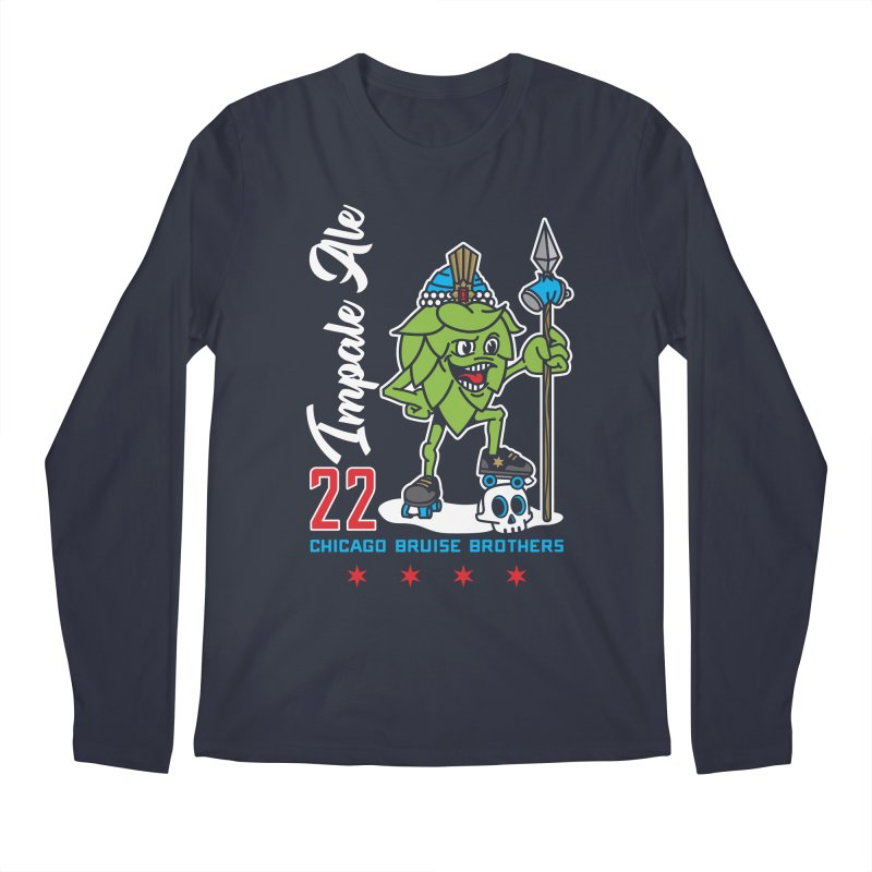 Skater Series: Impale Ale Men's Regular Longsleeve T-Shirt by Chicago Bruise Brothers Roller Derby