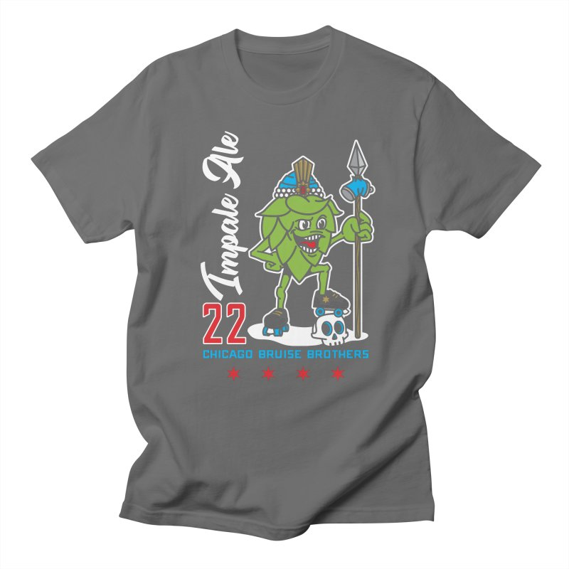 Skater Series: Impale Ale Women's Regular Unisex T-Shirt by Chicago Bruise Brothers Roller Derby