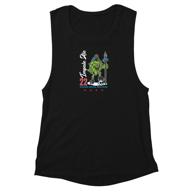 Skater Series: Impale Ale Women's Tank by Chicago Bruise Brothers Roller Derby