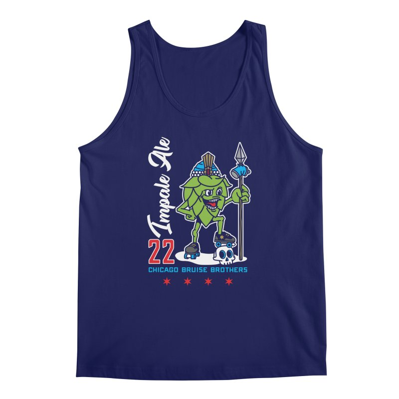 Skater Series: Impale Ale Men's Regular Tank by Chicago Bruise Brothers Roller Derby