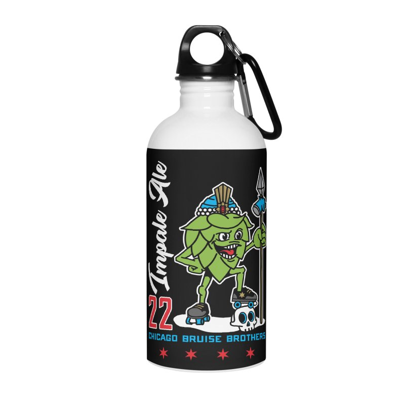 Skater Series: Impale Ale Accessories Water Bottle by Chicago Bruise Brothers Roller Derby