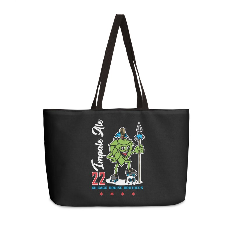 Skater Series: Impale Ale Accessories Weekender Bag Bag by Chicago Bruise Brothers Roller Derby