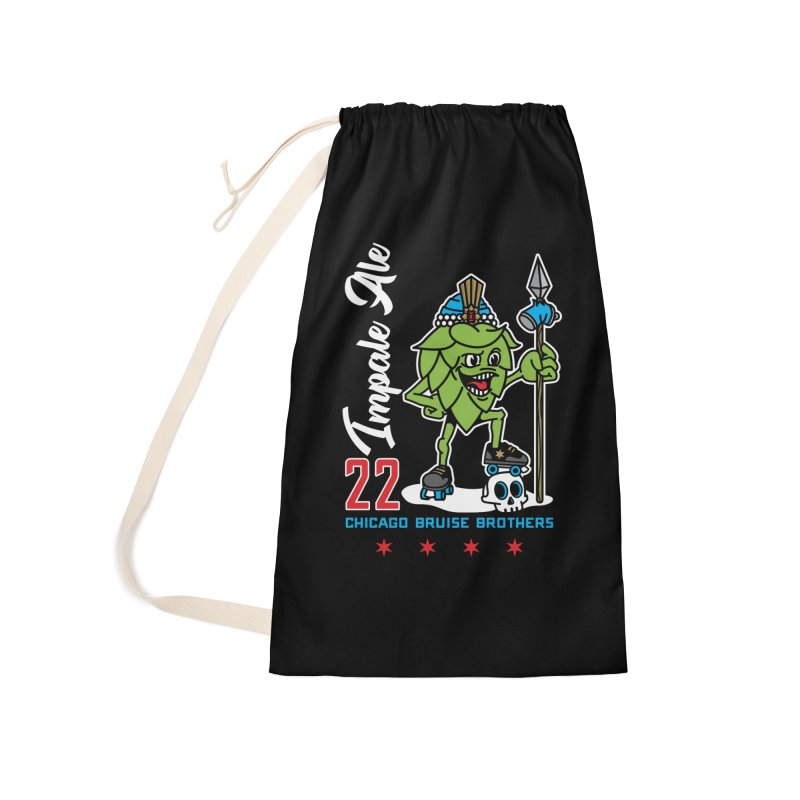 Skater Series: Impale Ale Accessories Laundry Bag Bag by Chicago Bruise Brothers Roller Derby