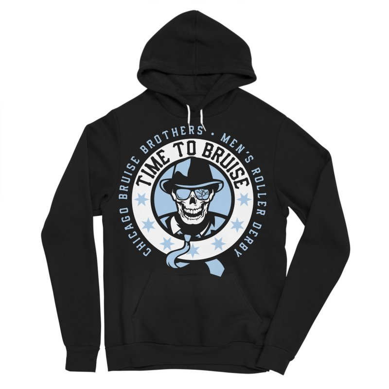 Do Work Men's Sponge Fleece Pullover Hoody by Chicago Bruise Brothers Roller Derby