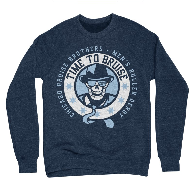 Do Work Women's Sponge Fleece Sweatshirt by Chicago Bruise Brothers Roller Derby