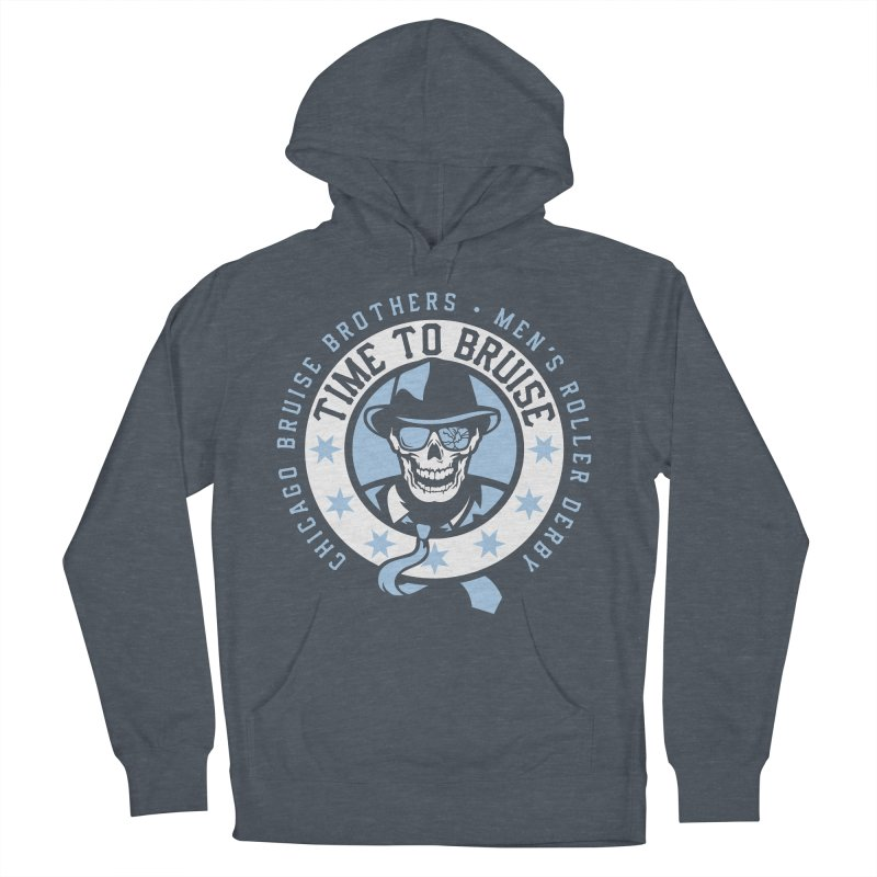 Do Work Women's French Terry Pullover Hoody by Chicago Bruise Brothers Roller Derby