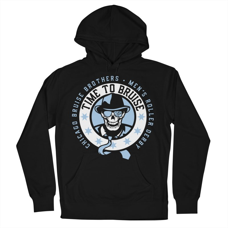 Do Work Men's French Terry Pullover Hoody by Chicago Bruise Brothers Roller Derby