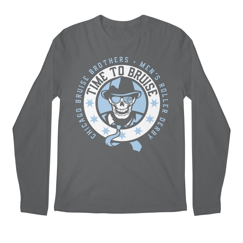 Do Work Men's Regular Longsleeve T-Shirt by Chicago Bruise Brothers Roller Derby