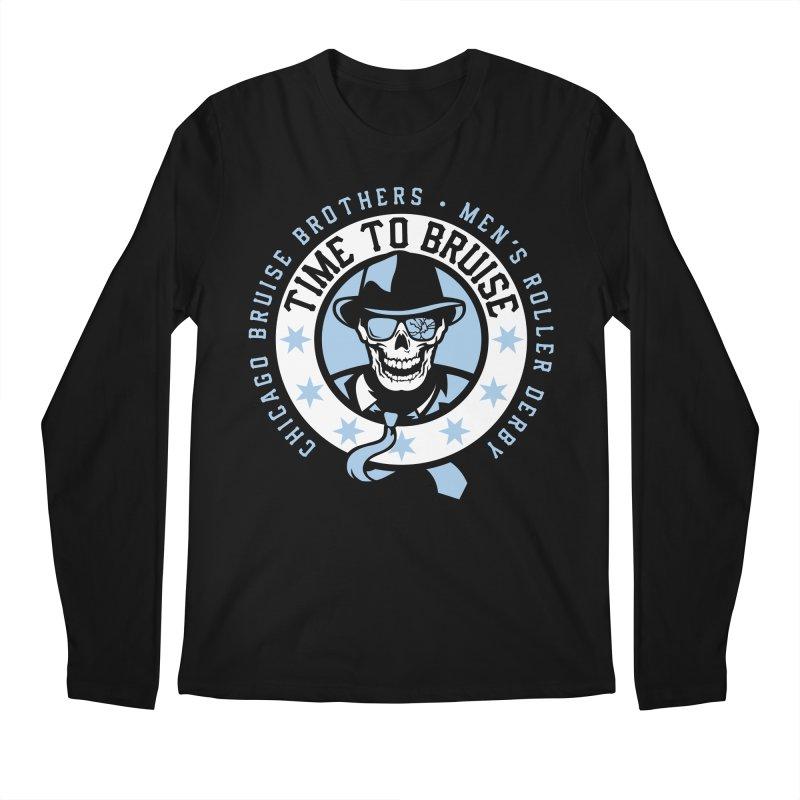 Do Work Men's Regular Longsleeve T-Shirt by Chicago Bruise Brothers Roller Derby