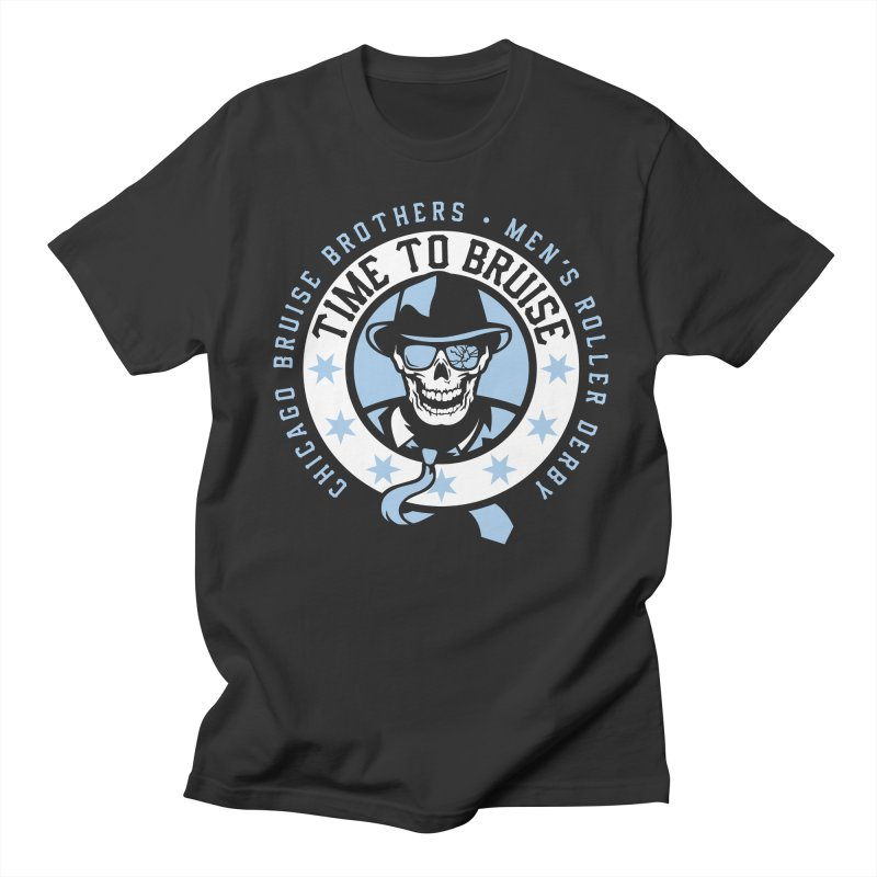 Do Work Men's Regular T-Shirt by Chicago Bruise Brothers Roller Derby