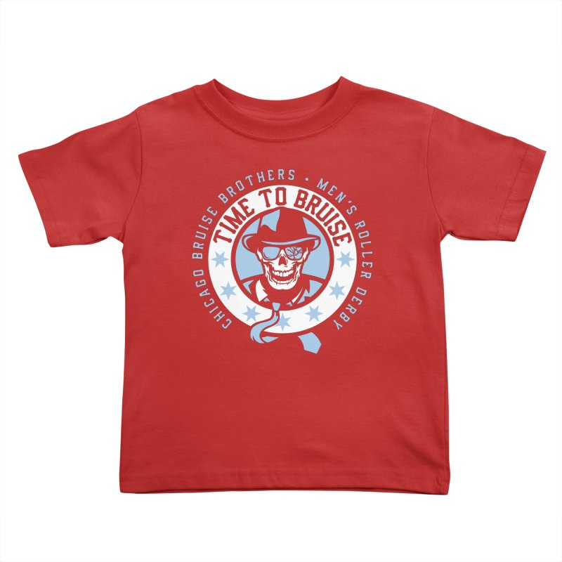 Do Work Kids Toddler T-Shirt by Chicago Bruise Brothers Roller Derby
