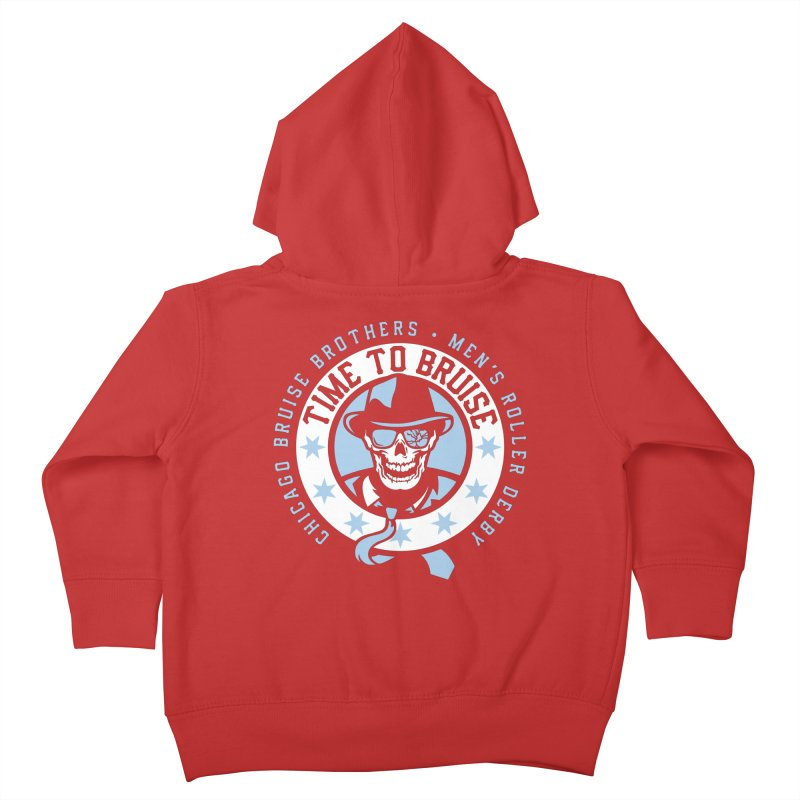 Do Work Kids Toddler Zip-Up Hoody by Chicago Bruise Brothers Roller Derby