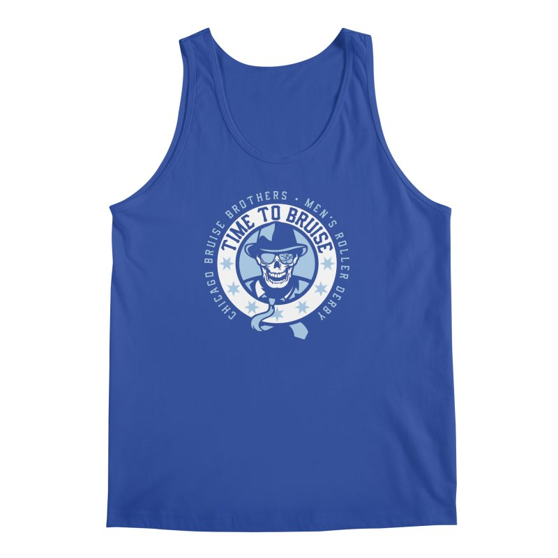 Do Work Men's Tank by Chicago Bruise Brothers Roller Derby