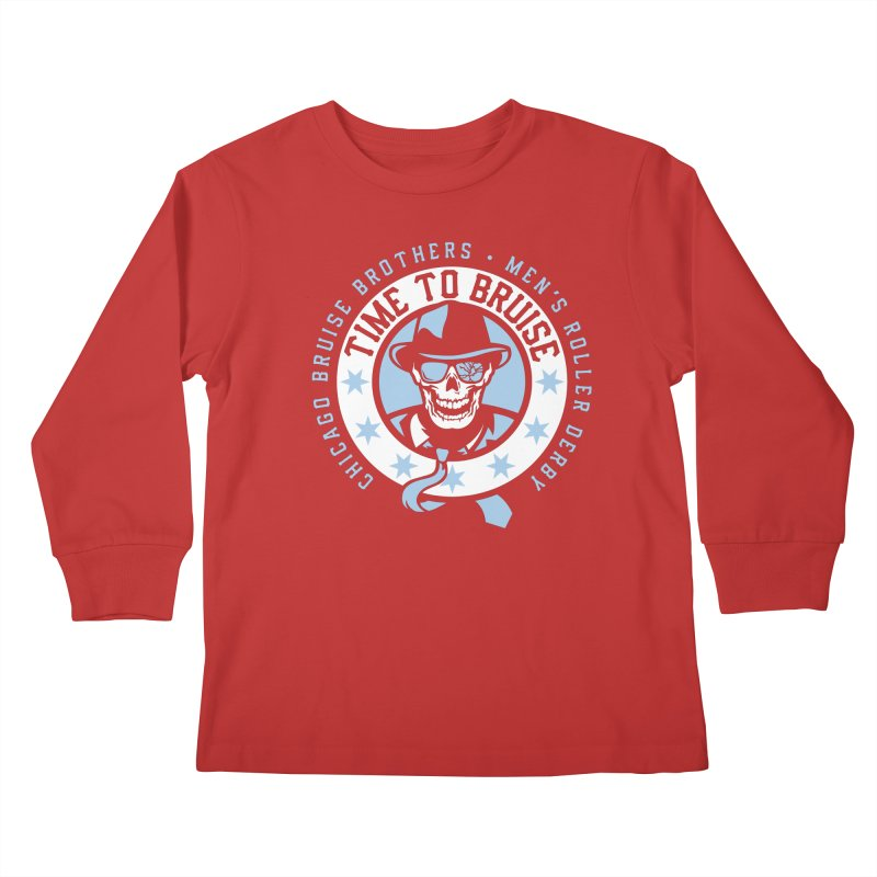 Do Work Kids Longsleeve T-Shirt by Chicago Bruise Brothers Roller Derby