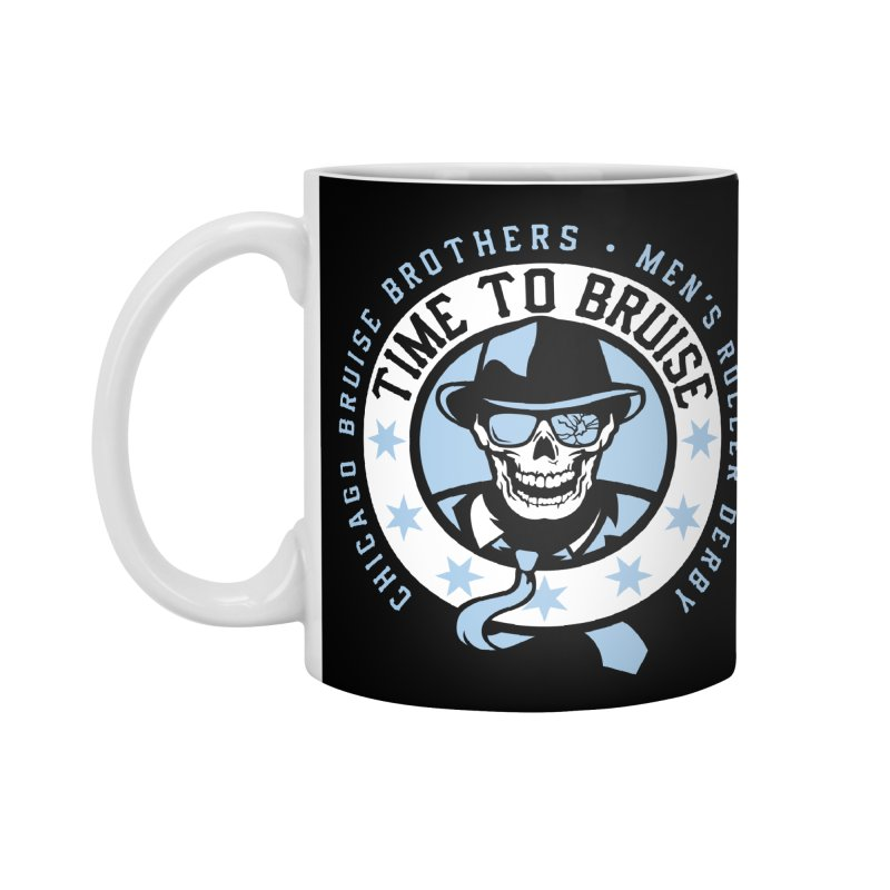 Do Work Accessories Standard Mug by Chicago Bruise Brothers Roller Derby