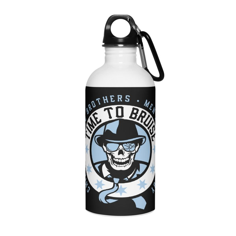 Do Work Accessories Water Bottle by Chicago Bruise Brothers Roller Derby