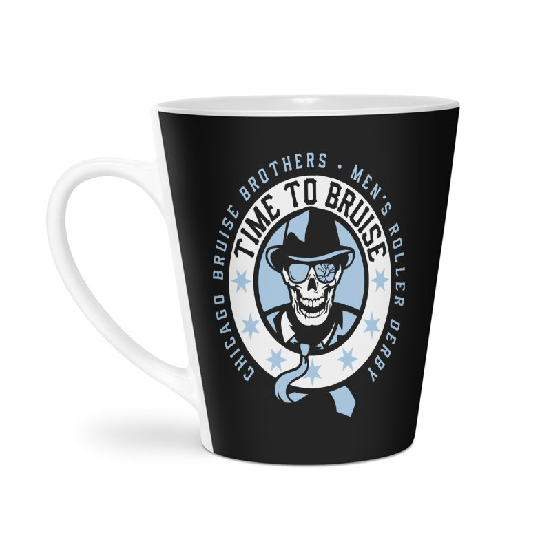 Do Work Accessories Latte Mug by Chicago Bruise Brothers Roller Derby